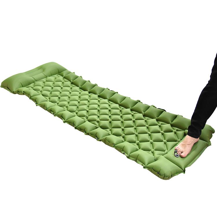 SIYIN Outdoor inflatable mattress portable PICNIC CAMPING beach inflatable mattress TPU stitching fo