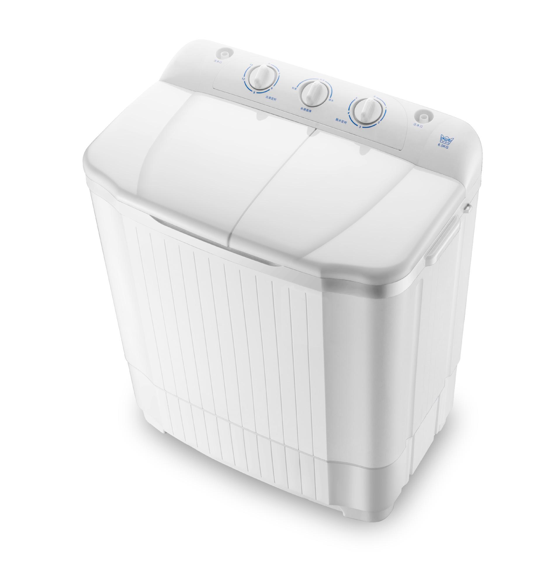 Shenhua 6.2 kg double-cylinder impeller washing machine semi-automatic double-barrel dehydrating was