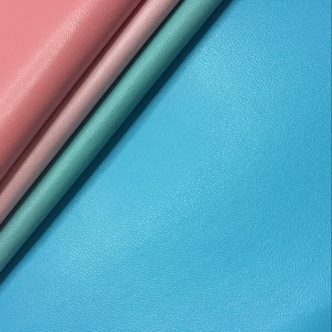 0.75mmpu imitation sheepskin with cashmere bottom for bags and handbags0.75mmpu imitation sheepskin