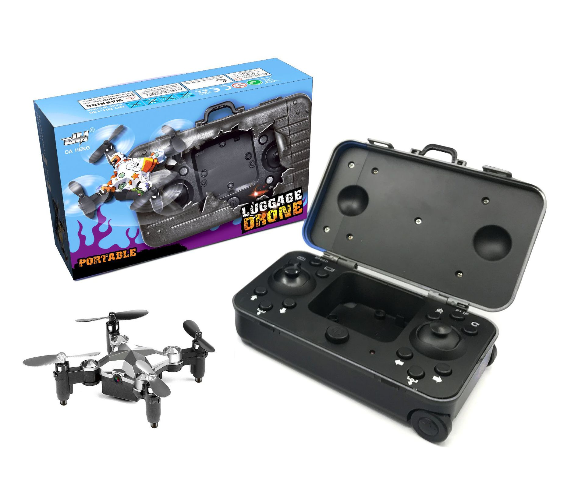 DIANYU Douyin Kuaishou the same luggage watch drone folding aerial photography mini smart remote con