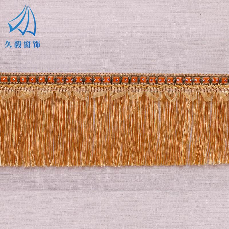 JIUYI New curtain lace ribbon sequined dragon beard home textile clothing DIY lace accessories whole