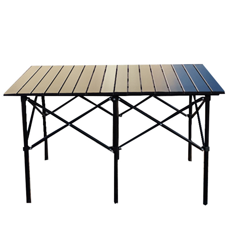 Outdoor barbecue table camping folding table chair set portable car travel portable table barbecue s