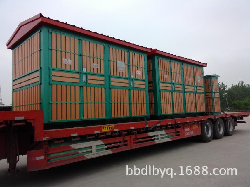 Trạm biến áp kiểu hộp YB-500KVA .