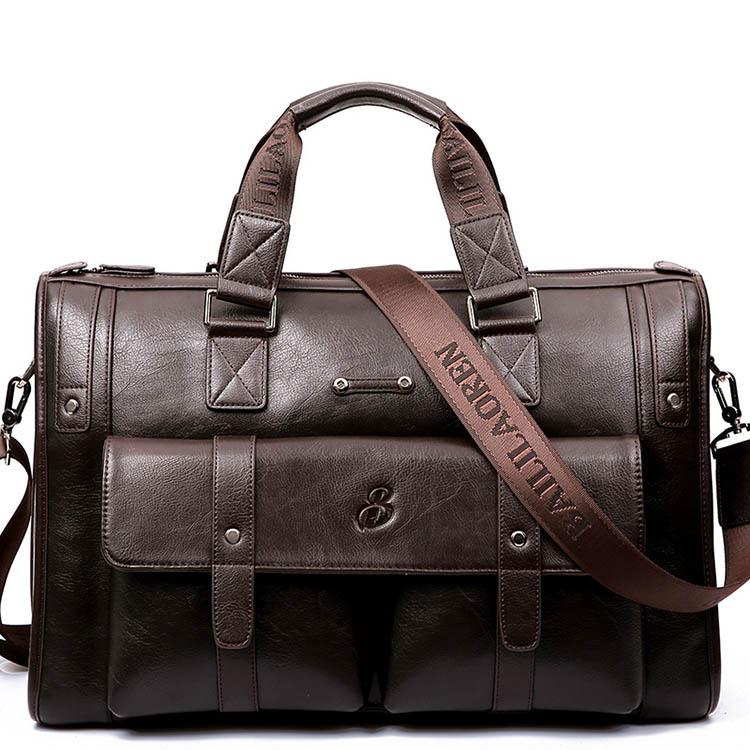 Túi xách thời trang cho nam phiên bản ngang công suất lớn