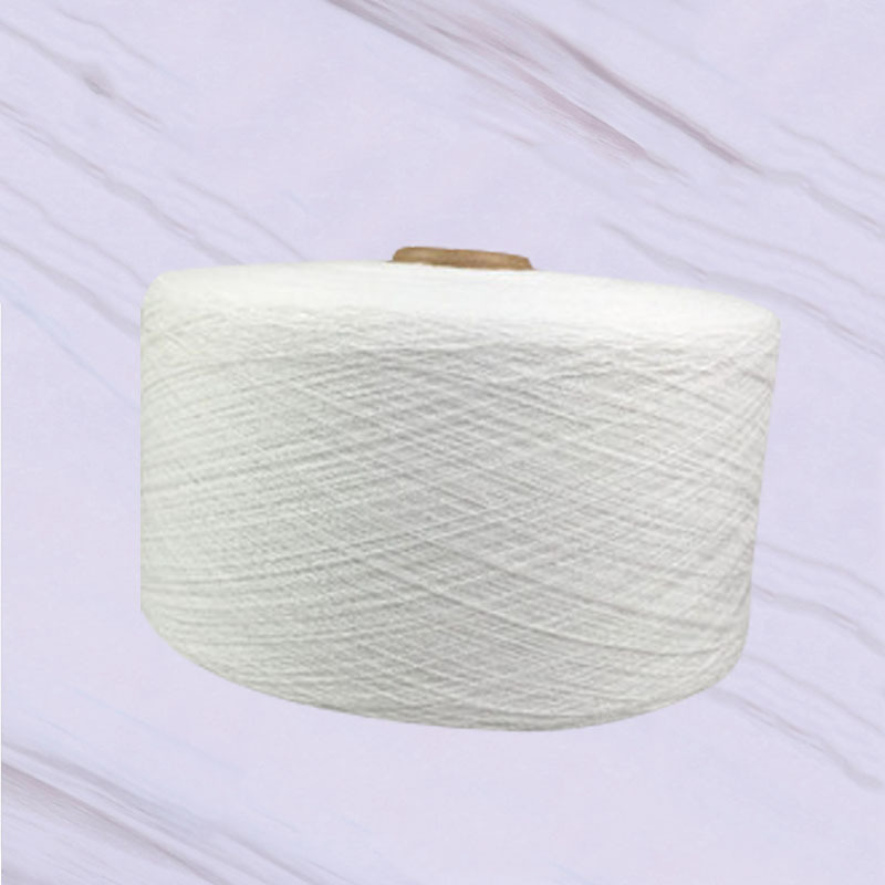 HUANSHENG Chemical fiber cotton bleached 13 T / C yarn rotor spinning polyester scarf cotton yarn lo