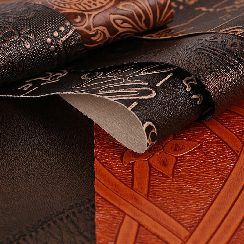 Baojin manufacturer: China style ancient coin Xizi Egyptian pattern wine box box packaging PVC artif
