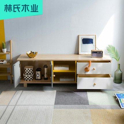 Lin's Kệ Tivi  Wood Industry căn hộ nhỏ đơn giản phong cách Bắc Âu phù hợp với màu sắc phù hợp với