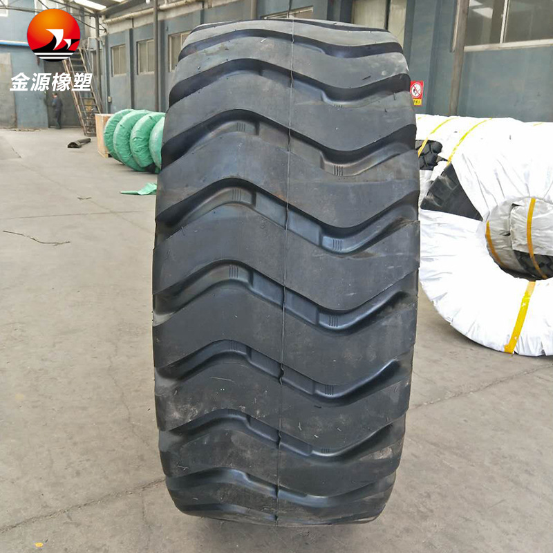 JINYUAN 70 loader solid tire 29.5-25 construction machinery tire grader bulldozer loader tire