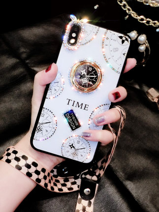 Ốp lưng Iphone 6 Ốp lưng điện thoại iphonex xs nữ xsmax net màu đỏ iPhone6s new 6sp apple 7plus cá t