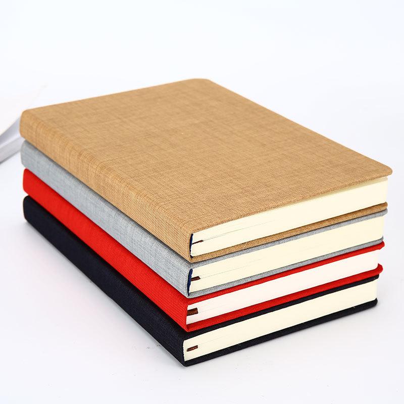 sổ tay chất liệu bìa vải da sáng tạo