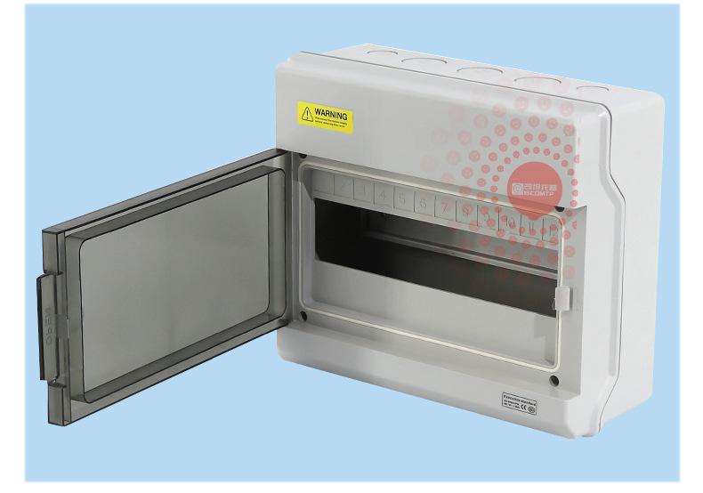 Bề mặt của hộp đã được lắp một hộp bảo vệ hệ thống mạnh, hộp chứa nước chống mưa và hộp phân phối bằ