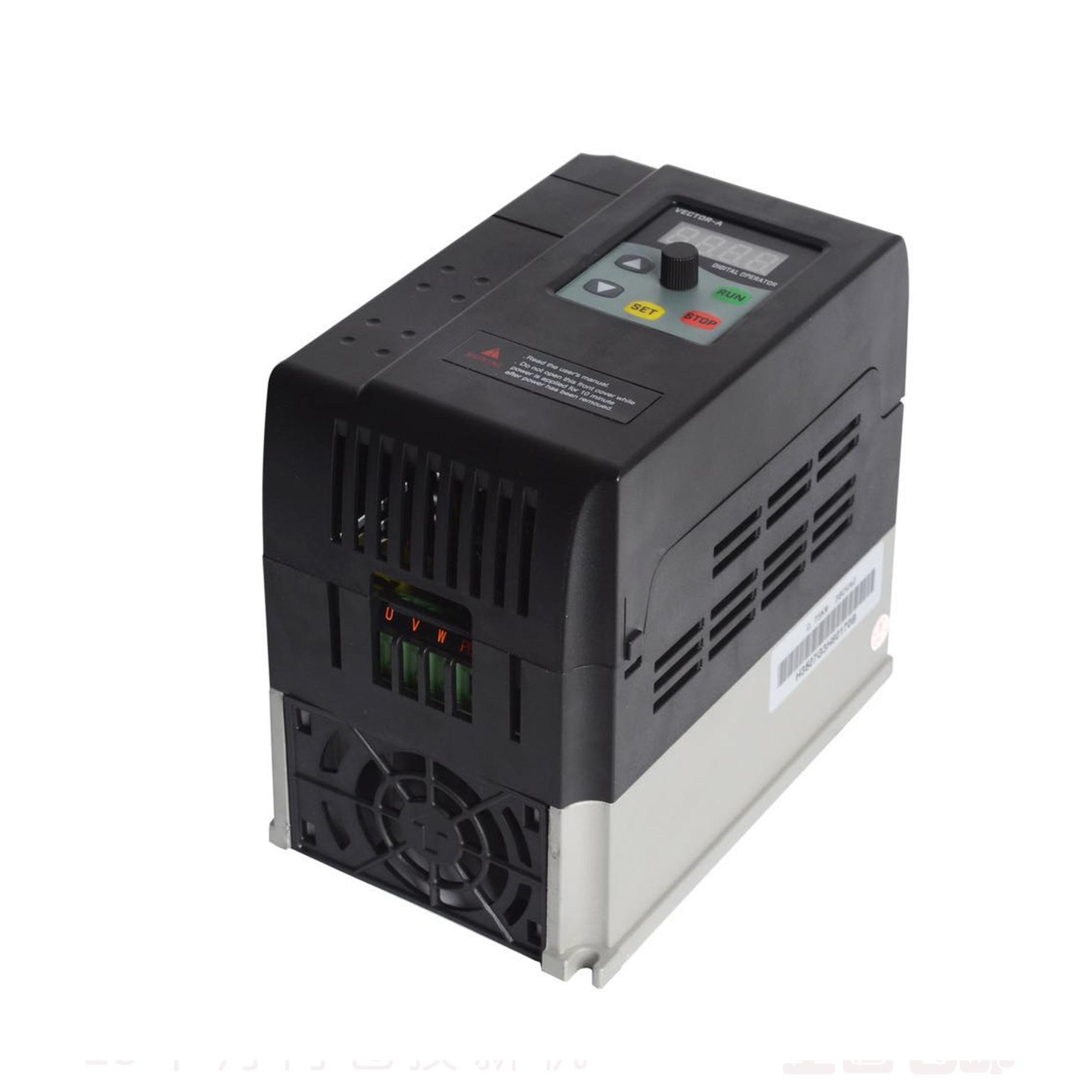 Bộ chuyển đổi tần số động cơ quạt 380V1.5KW máy bơm nước .