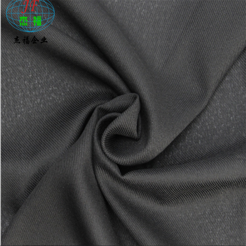 JIEFU New products in stock supply clothing accessories high quality interlining 30d spinning interl