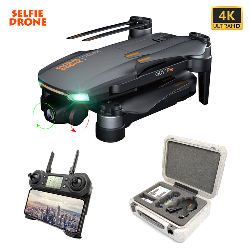 Global drone gd91 Pro 2-axis brushless GPS aerial UAV 4K HD remote control aircraft