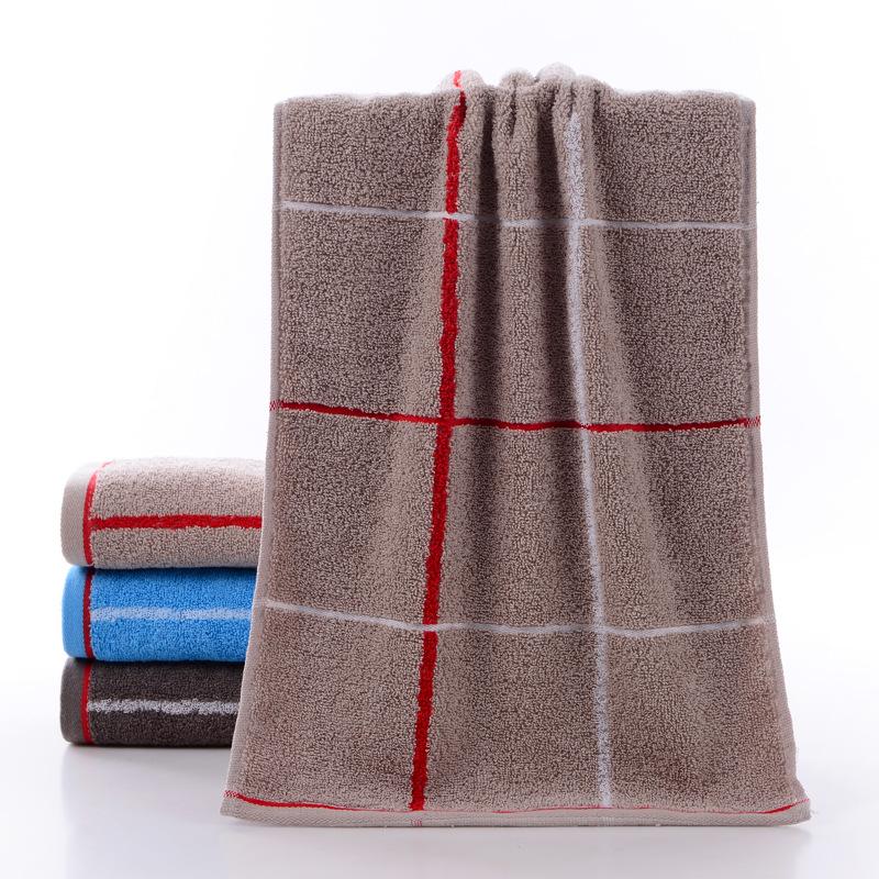 khăn bông in và nhuộm ba màu tùy chọn mềm mại và thoải mái
