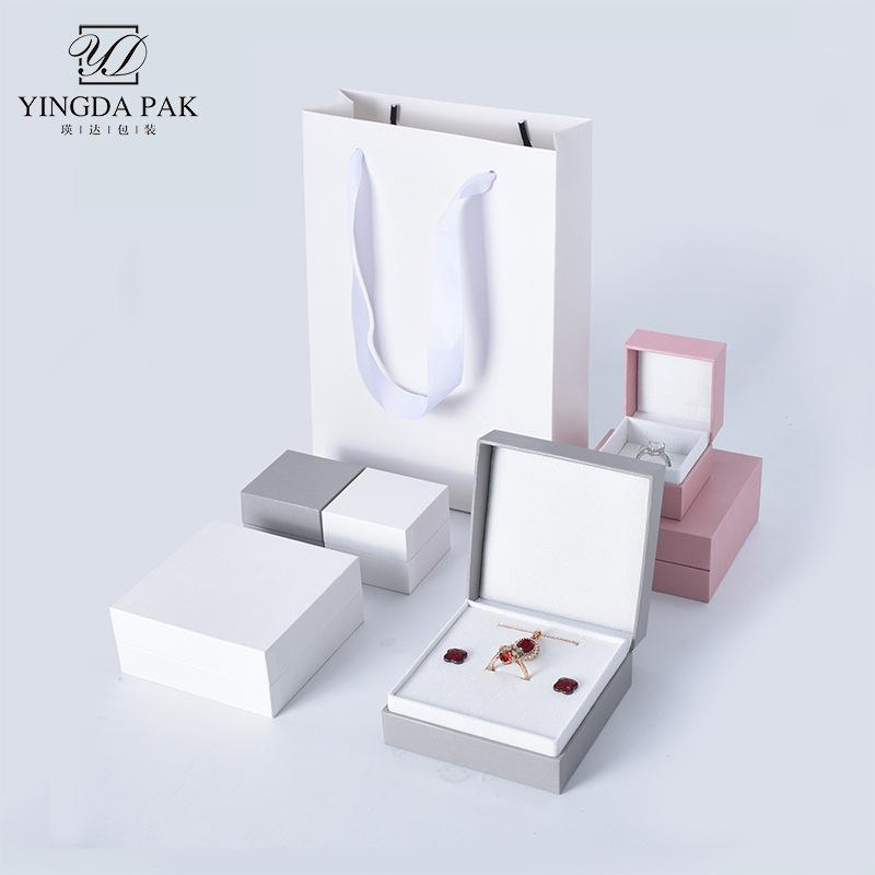 Jewelry Box Flip Paper Pendant Multi-Bracelet Function Jewelry Box European and American Custom Logo