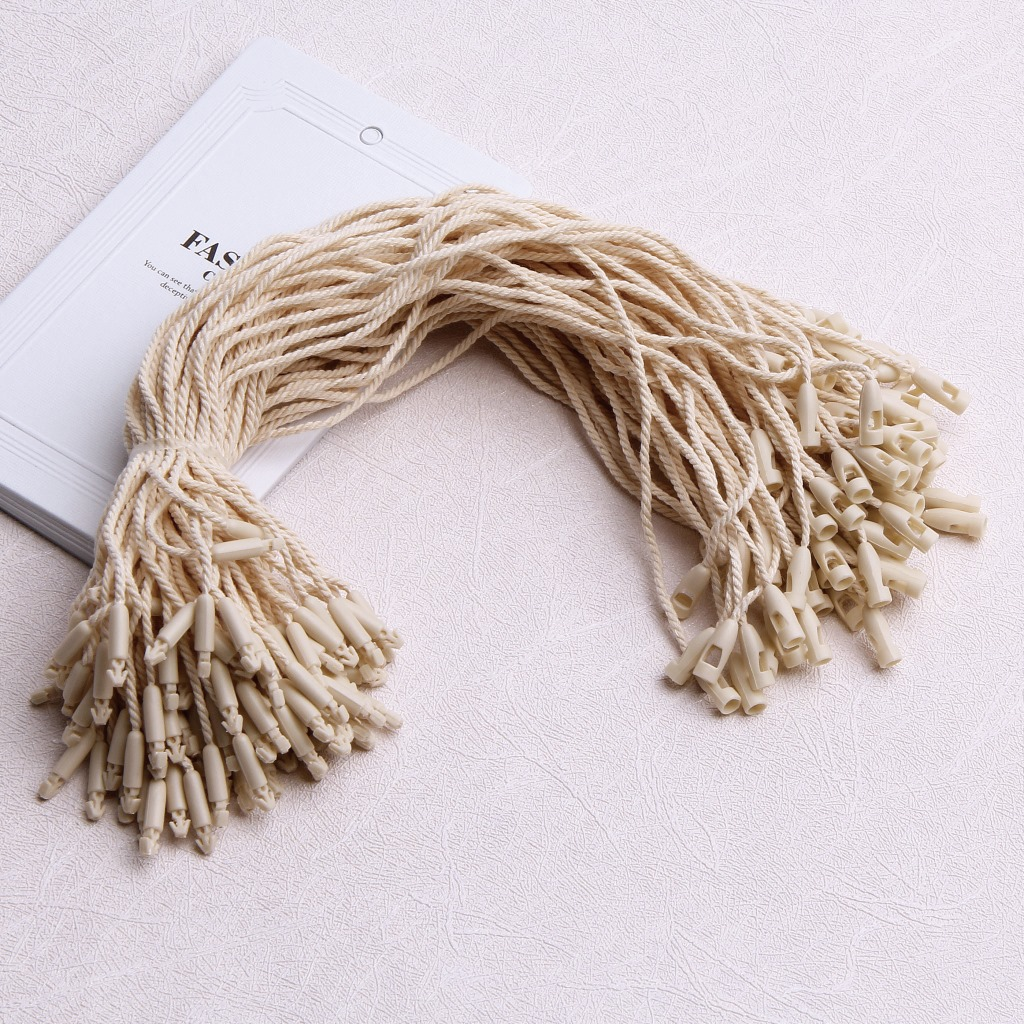 No.1 hanging tag universal bullet head hanging grain in stock high grade logo printing lifting rope