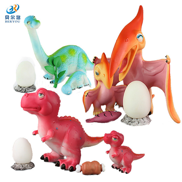 Đồ chơi mô hình gia đình khủng long BEIERYOU