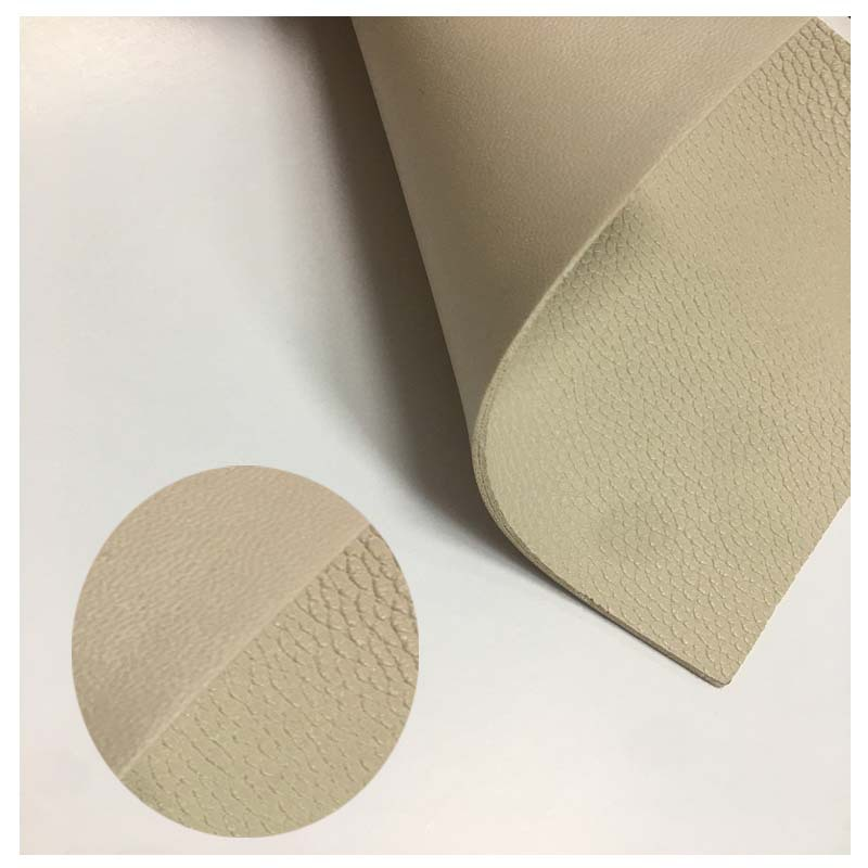LIFA Thick and wear-resistant double-sided leather lychee pattern pu microfiber pu fabric magic lase