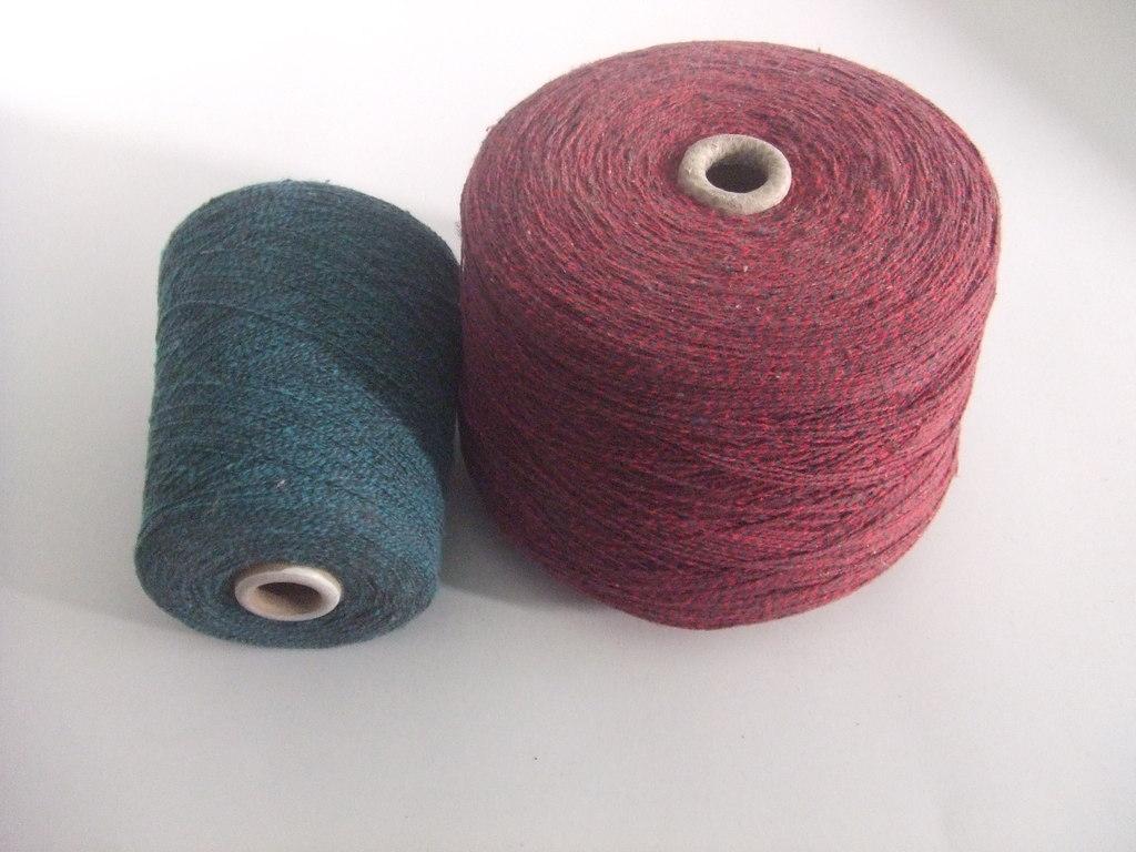 Professional high-quality blended yarn, computerized flat knitting machine, sealing yarn, AB yarn
