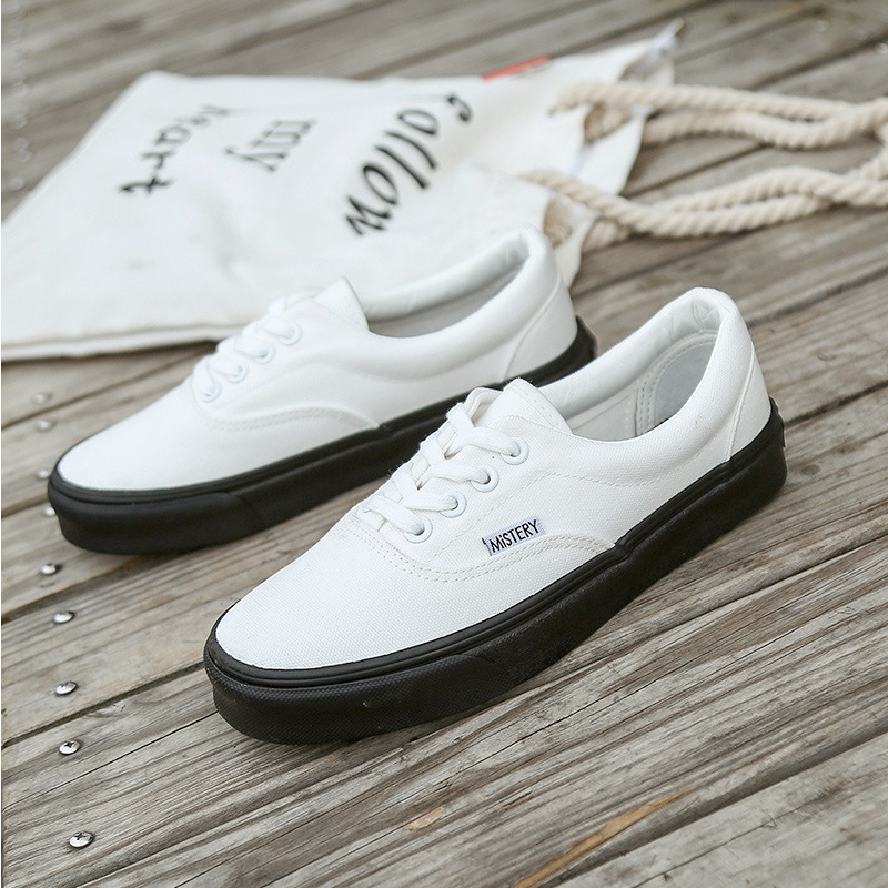 Mistery Street canvas shoes female students Korean casual shoes 2020 spring shoes children ulzzang v