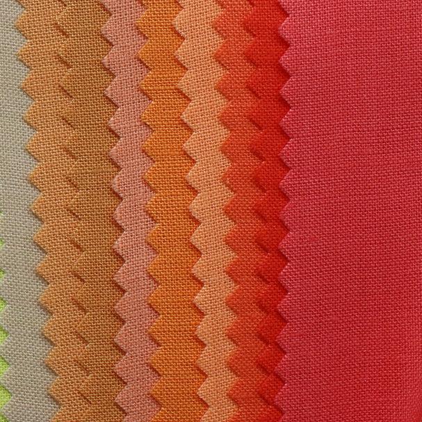 Spot pure ramie fabric simple multicolor cotton and linen fabric