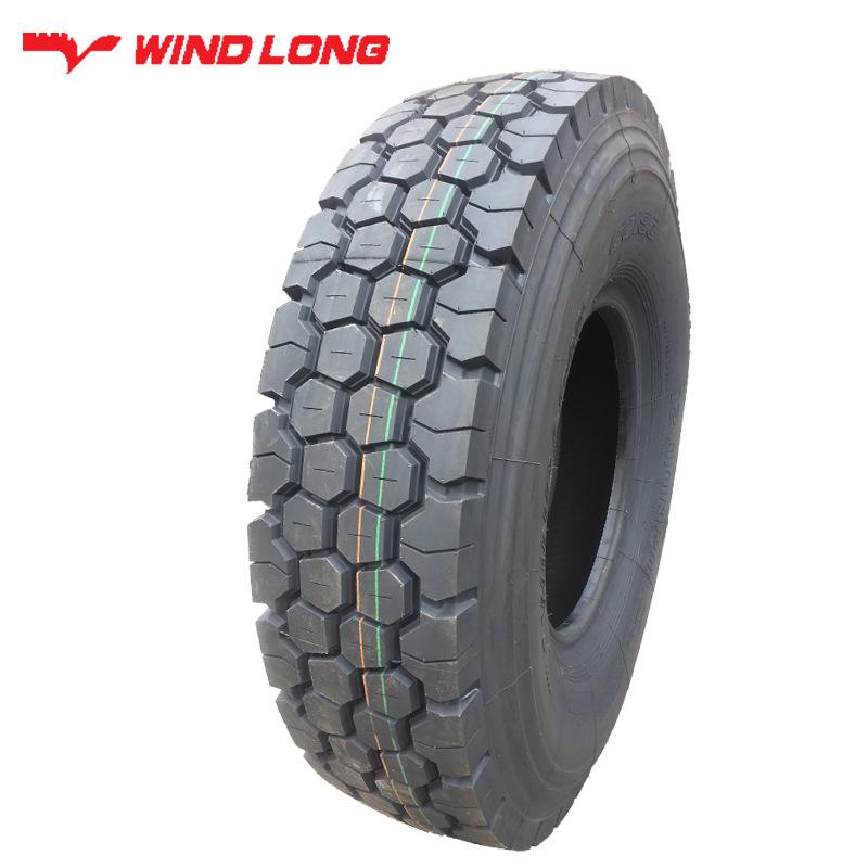 WEILONG Mine truck tire football block 1200R20 dump truck mud truck tire load resistance and wear re