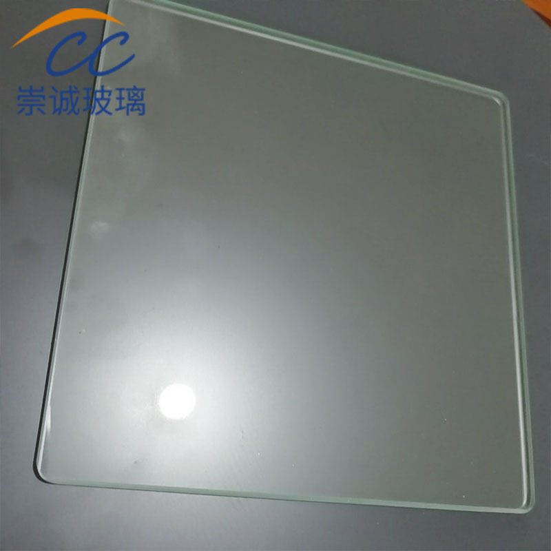 CHONGCHENG Tempered small glass desktop special-shaped tempered glass customized rectangular riot te