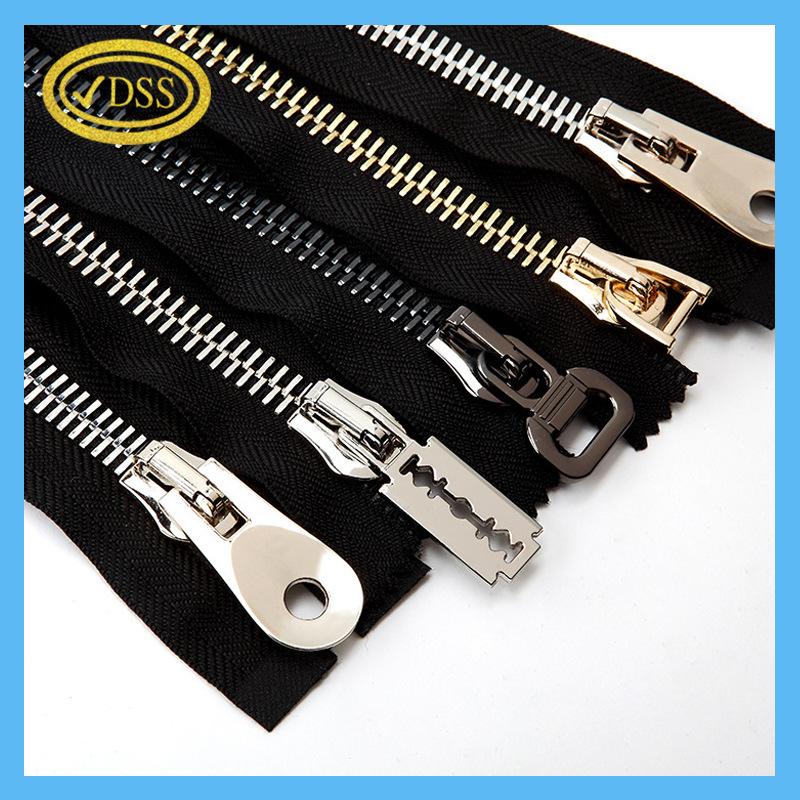 DSS Custom closed tail zipper jacket clothing zipper 5 metal zipper