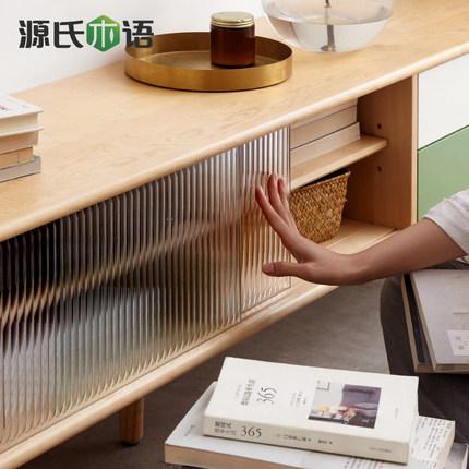 Kệ Tivi  Ngôn ngữ gỗ Genji gỗ chắc chắn Tủ TV đơn giản nhà hiện đại bảo vệ môi trường Tủ sàn phòng k