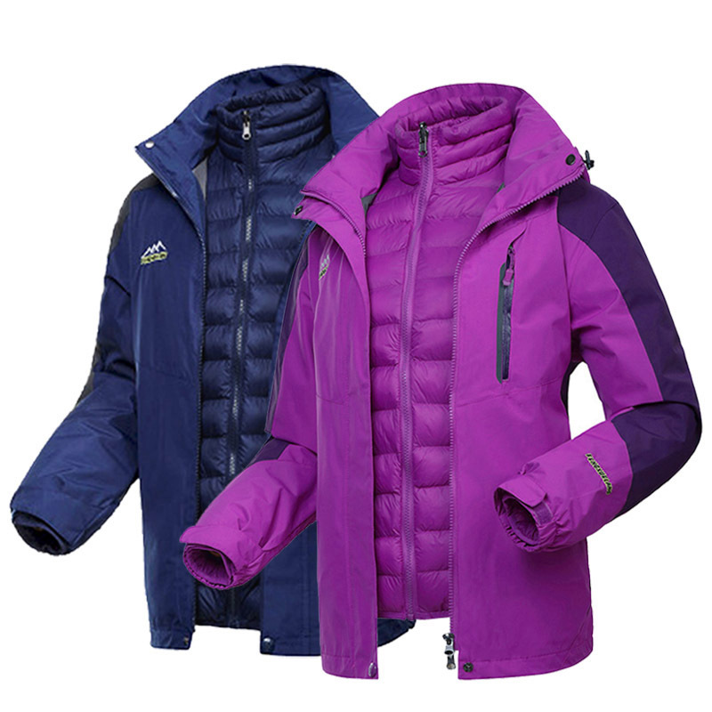 FENGXUELANG and winter padded jacket female mother middle-aged outdoor ladies assault down padded ja