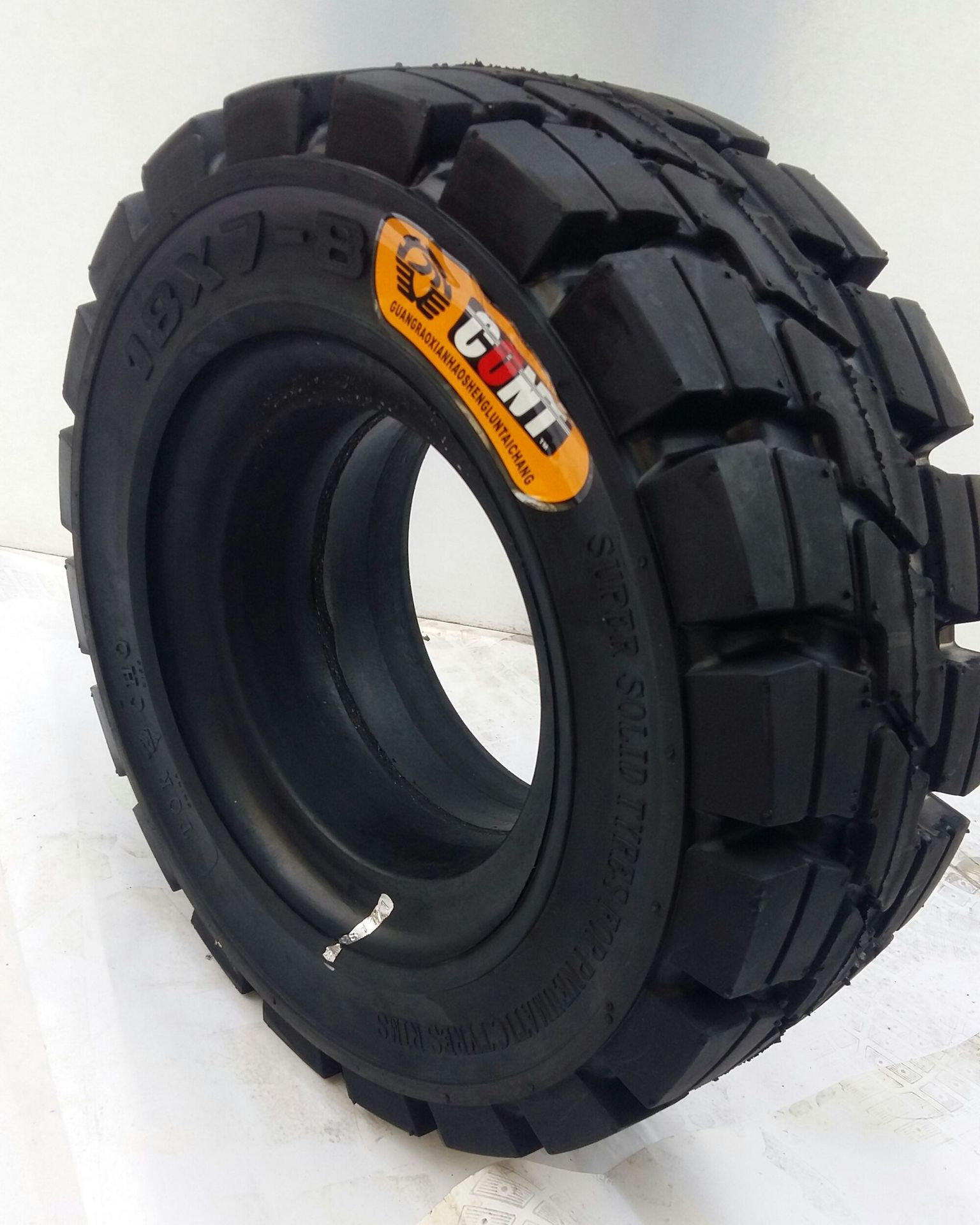 JPZ CONT New formula solid tire for trailer forklift truck