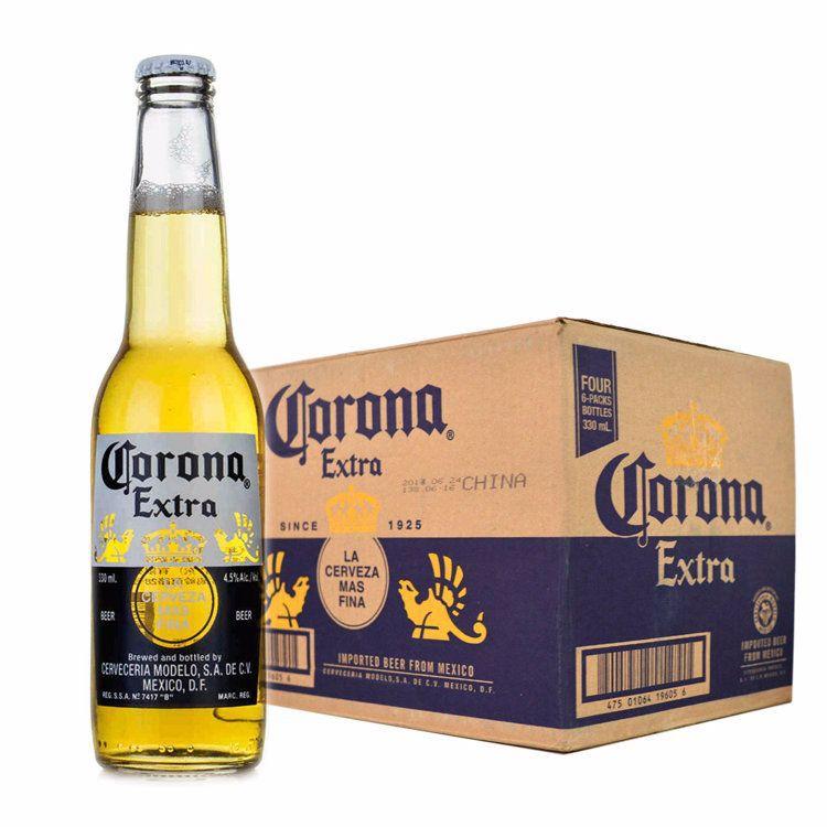 KELUONA Mexico imported beer CORONA Corona beer small bottle 330ml*24KTV beer wholesale