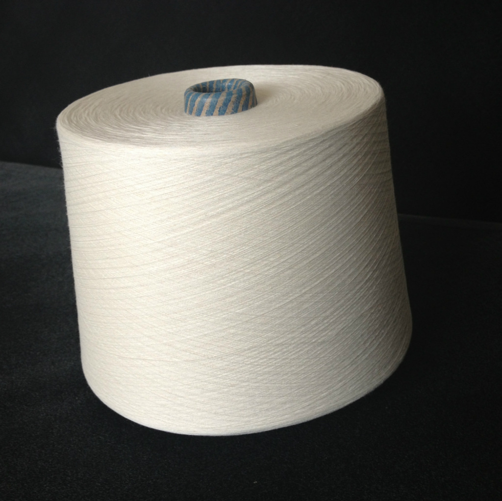Linen long staple cotton blended yarn 30/70 32S antibacterial and anti-mite