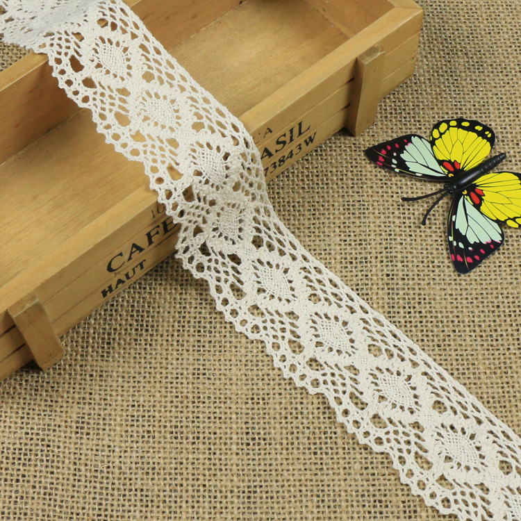 MEIWEI 3 cm wide home lace diamond lace