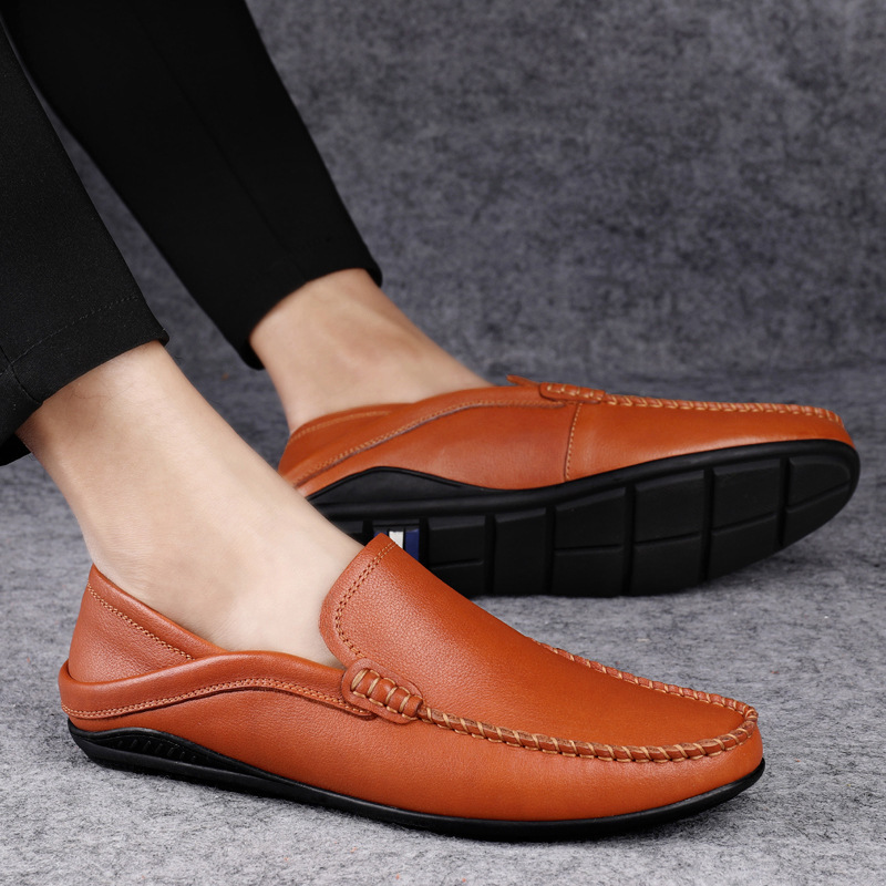 MSXS Spring and autumn 2020 new bean shoes men's casual shoes Korean fashion men's shoes fashion v