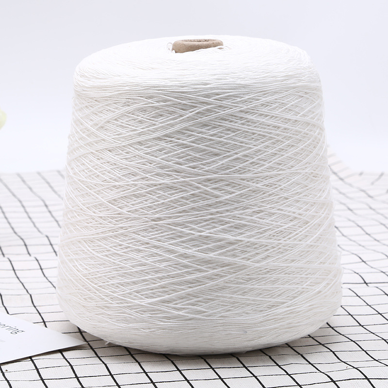 Scarf yarn cotton spinning mercerized cotton thread singeing mercerized cotton singeing strong twist