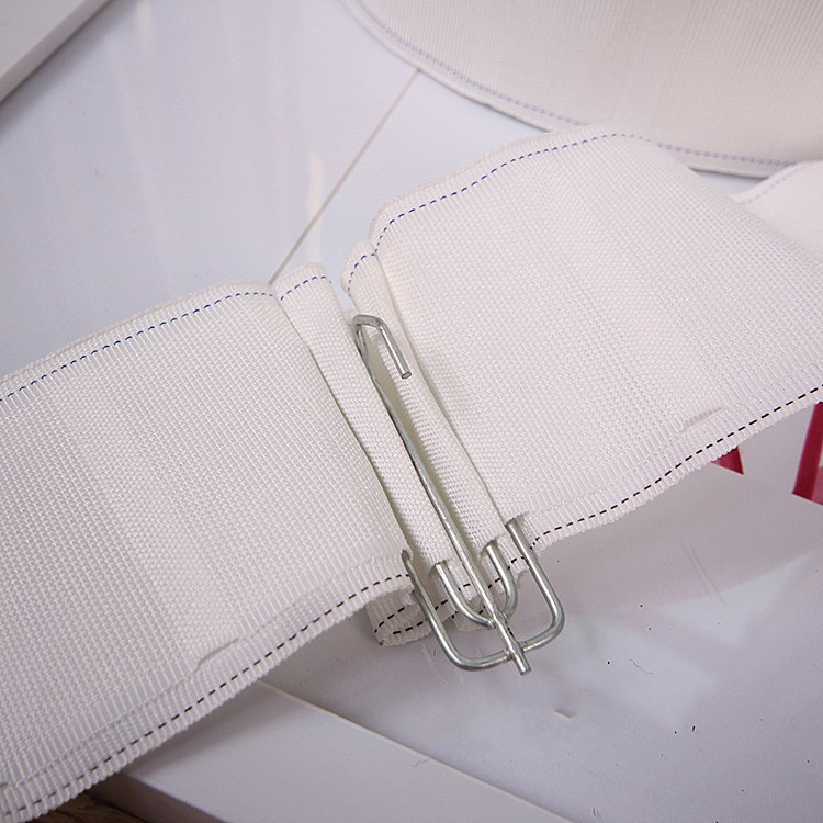 YUHUANG Curtain hook cloth belt White cloth belt thickening encryption Hot selling curtain belt acce
