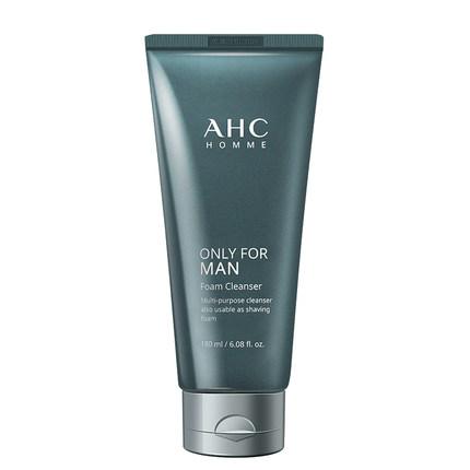 AHC Phái nam  Sữa rửa mặt AHC dành cho nam, kiểm soát dầu và mụn đầu đen, mụn đặc biệt, làm trắng, d
