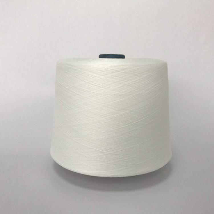 HENGZE TC yarn 32 counts Polyester-cotton yarn blended yarn Poly65/Cotton 35 ratio Polyester-cotton