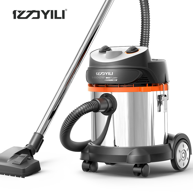 Yili 95E-20 liters commercial household factory workshop dry and wet blow bucket three-purpose vacuu