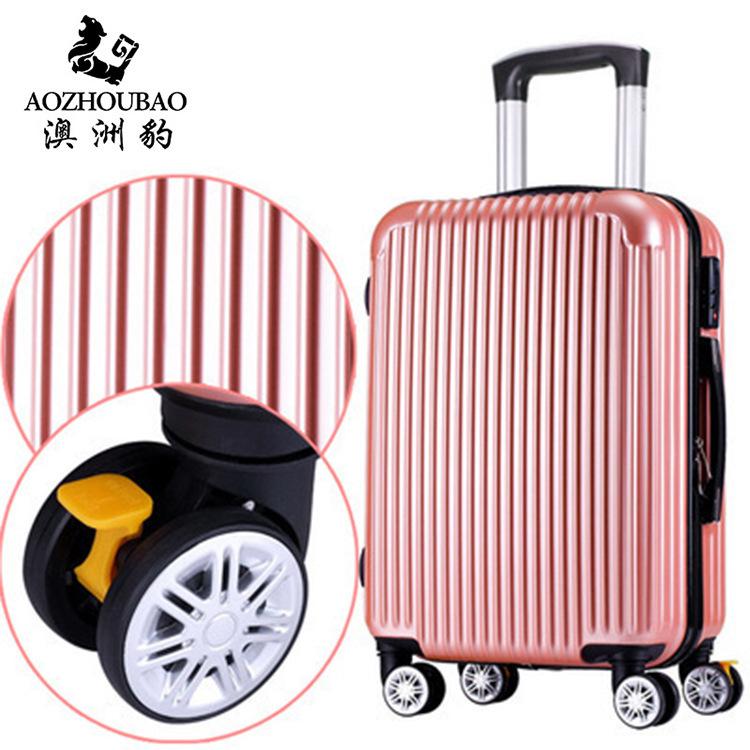 Vali mã xe đẩy hành lý du lịch có bánh phổ thông