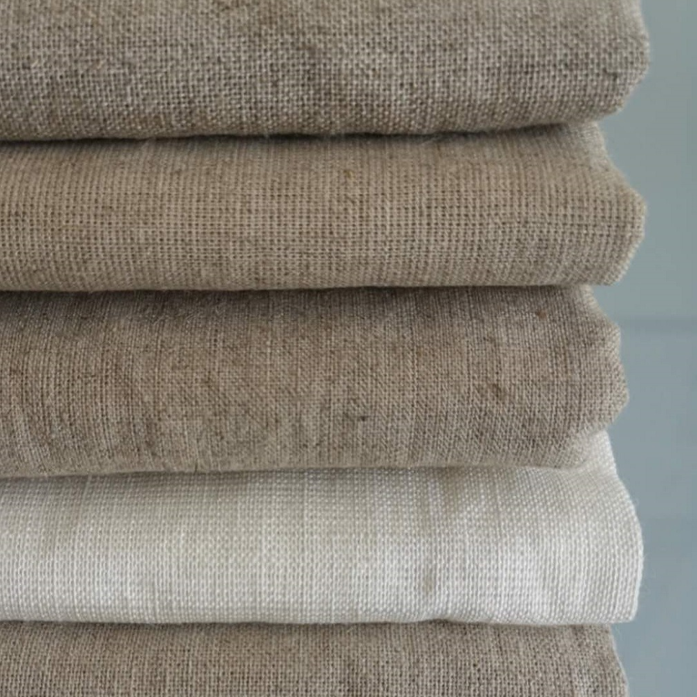 Todaylinen Linen viscose spring and summer high-end men's and women's clothing curtain bedding 8 g