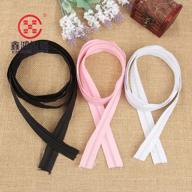 XZZ Supply 3# Kara nylon coded nylon zipper, multi-color optional, quality assurance
