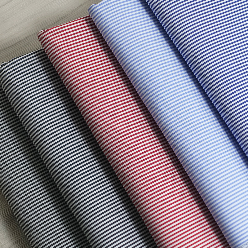 Nylon/cotton stretch yarn-dyed sliver fabric business men's and women's formal shirt fabric spring