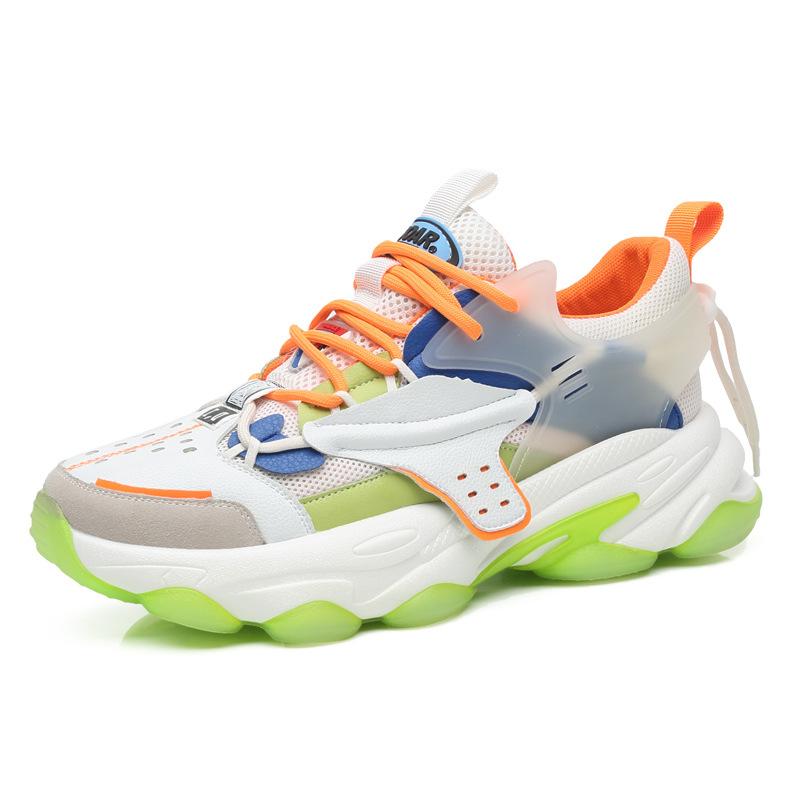 Giày thể thao thoáng khí phối lưới giày cho nam