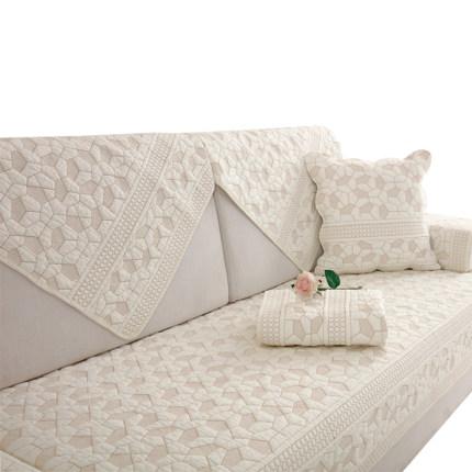 Vỏ bọc Sofa Đệm sofa bông vải bốn mùa đơn giản đệm hè hiện đại đa năng bọc ghế sofa tựa lưng chống t