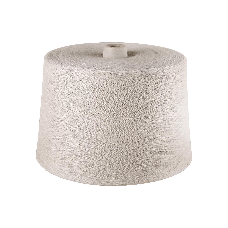 99% flax yarn 13.5NM manufacturer supplies ring spinning yarn, knitted flax yarn