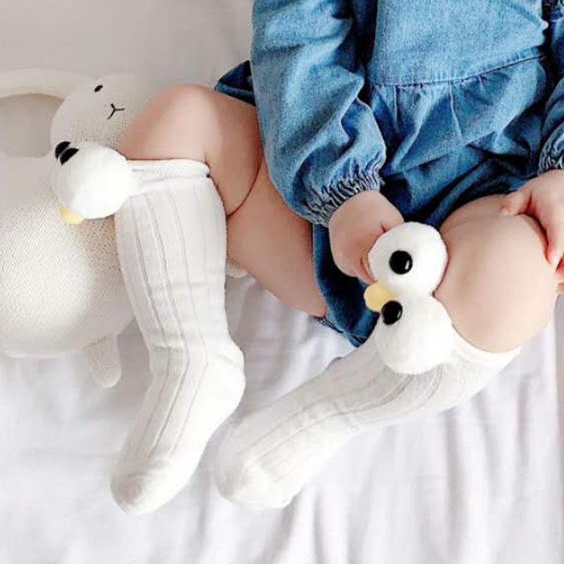 Cute Sesame Street INS vibrato blast children's big eye socks Anpanman Korean loose mouth cotton so