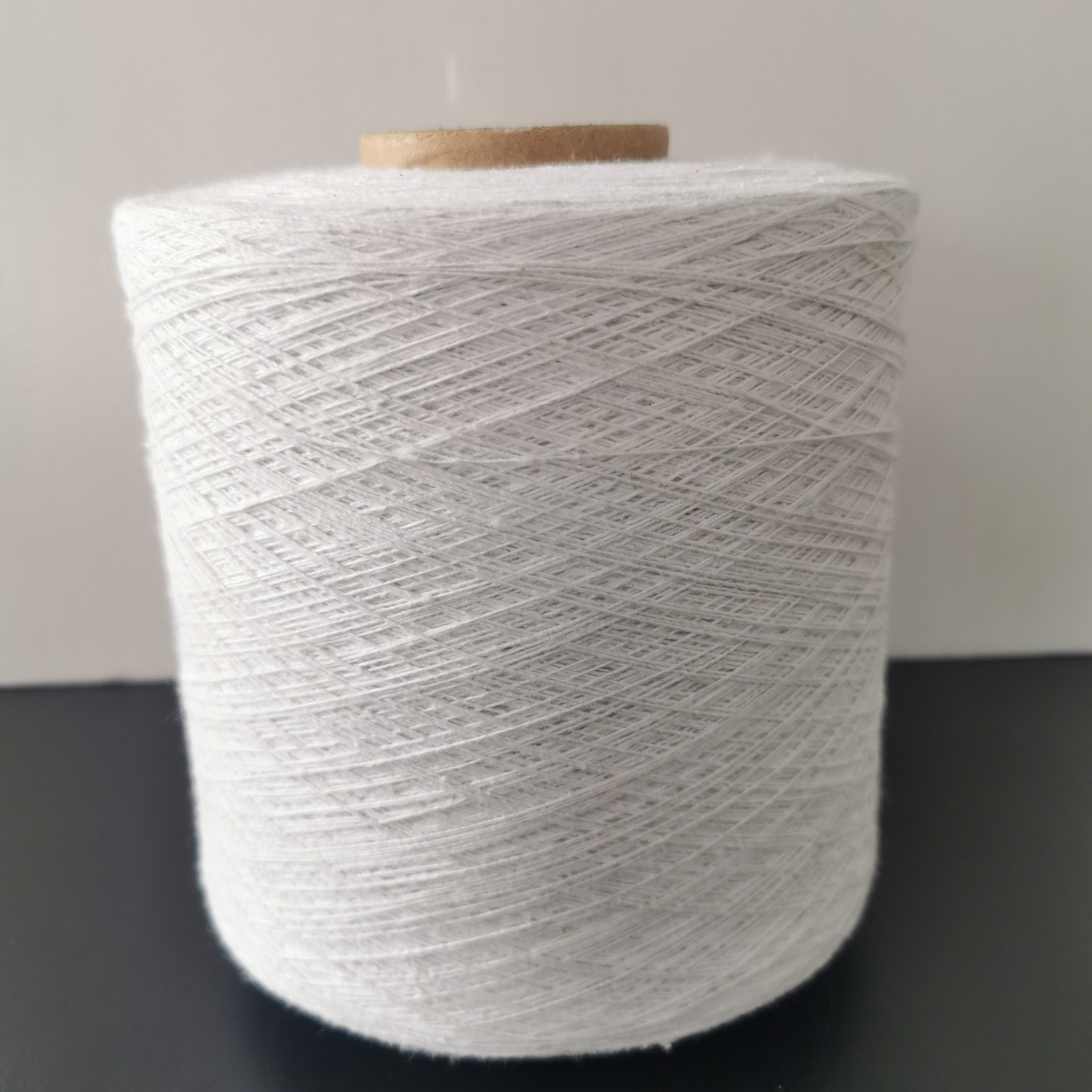 HENGLI Open-end spinning yarn, white cotton spinning yarn, polyester-cotton knitted cotton yarn